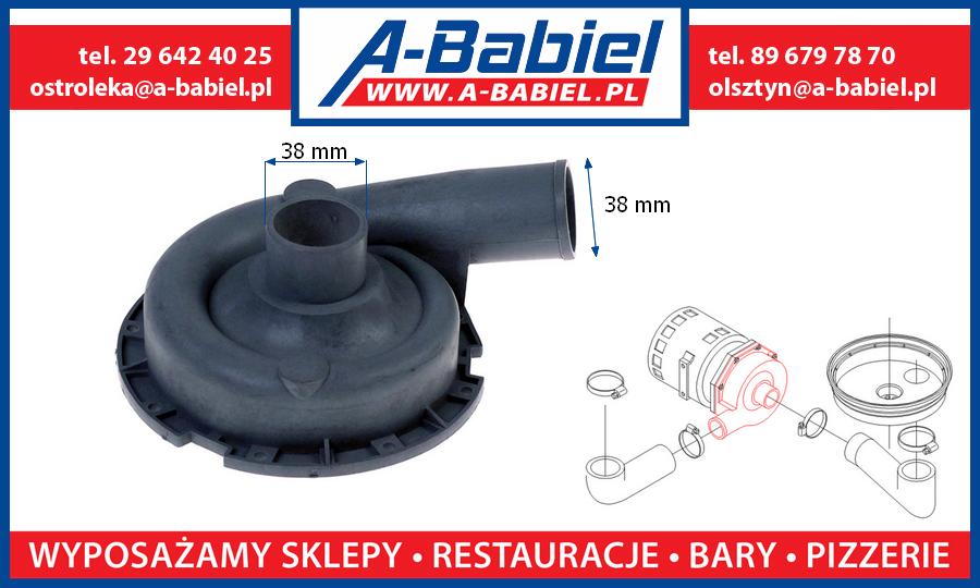 A-Babiel - Części zamienne do zmywarek Fagor, Pokrywa pompy myjącej do Fi-30, Fi-60, pompa myjąca Fagor Olsztyn, Ostrołęka